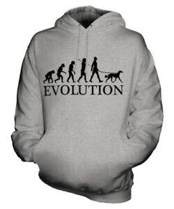 SALUKI EVOLUTION OF MAN UNISEX HOODIE MENS WOMENS LADIES DOG LOVER GIFT