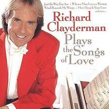 New: Clayderman, Richard: Plays the Songs of Love  Audio CD