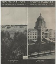 1936 Travel Brochure of  South Dakota