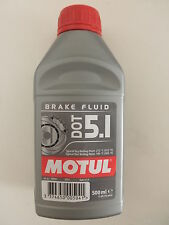 MOTUL DOT 5.1 BRAKE FLUID OLIO FRENI 100% SINTETICO per MOTO QUAD