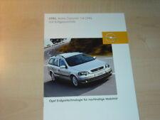 21373) Opel Astra Caravan 1.6 CNG Prospekt 2003