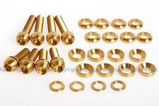 ROCKBROS Titanium Ti Bolt Screw Kit for Avid Elixir Code Juicy Disc Brake Golden