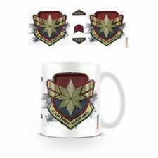 Taza Capitana Marvel Badge - Marvel