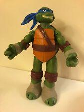 """Leonardo Teenager Ninja Mutant Turtle Action Hero 10"""" Used, 2012"""
