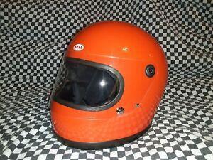 Vintage Bell Star 1968 Snell 7 1/4  Racing Helmet vgc Simpson arai shoei