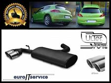 SILENCIEUX POT D'ECHAPPEMENT VW SCIROCCO III 2008-2010 2011 2012 2013 TIP 2x70