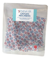 50 x 300cc PackFreshUSA OXYGEN ABSORBERS for Long Term Food Storage Preserve