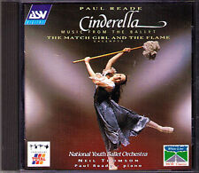 Paul Reade b1943 Cinderella GA (Ballet) March Girl and the Flame CD Neil Thomson