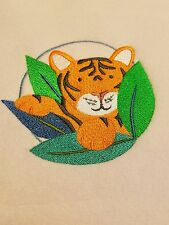 Personalized Embroidery Baby Blanket Baby Tigger