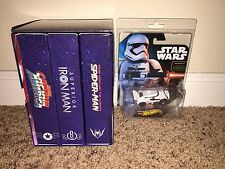 SDCC 2015 HOT WHEELS MARVEL SECRET WARS & STAR WARS FIRST ORDER STORMTROOPER !!!