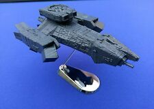 Nostromo spaceship from Alien. 3D-printed. Assembled, Painted W/Base