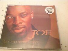 Joe Let's stay home tonight four track promo CD single
