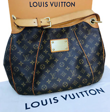 Authentic Louis Vuitton Galliera PM Monogram Hobo Handbag Bag