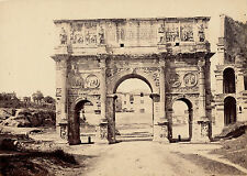 ROME c. 1870 - Arc de Constantin Italie  - 45