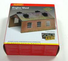 R8004 Hornby 00 Gauge Model Railway Engine Loco Shed Building Kit New & Boxed