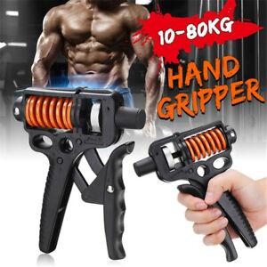 10-80KG Adjustable Hand Grip Strengthener Wrist Forearm Trainer Wrist Exerciser