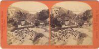 Suisse Hiltl Foto Lamy Stereo Vintage Albumina Ca 1870
