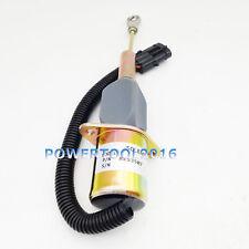 12V Fuel Shutoff Solenoid RE53507 for John Deere 4955 4560 4760 4960 644G Loader