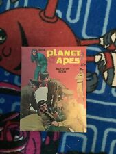 Vintage Artcraft Planet of the Apes Activity Book Saalfield Pub. C3031