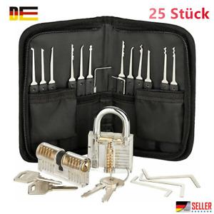 DE 25/30 Stück Lockpicking Set Dietrich Set Perfekte Lock Pick Set Für Anfänger