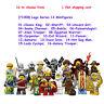 Lego Series 13 Minifigures King Unicorn gril Hot dog man 71008 NEW  16-to Choose