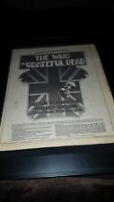 The Who Grateful Dead Days On The Green 1976 Original Promo Poster Ad Framed!