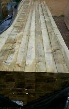 WOOD 4 x 2 x 4.8 metre PRESSURE TREATED SMOOTH TIMBERS, GRADED STAMPED