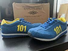 Vault-Tec Fallout Sneakers Size 9 Women size 7 mens Collector's Item