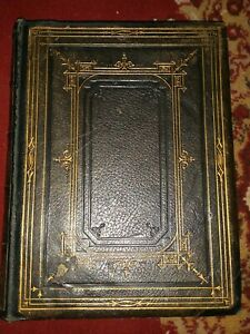 Complete William Shakespeare 1880 Lithograph Book Leather Bound