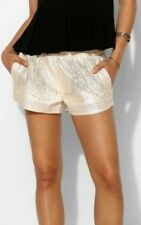 Urban Outfitters Shorts Make It Snow Laser Cut by Blank NYC  25 XS