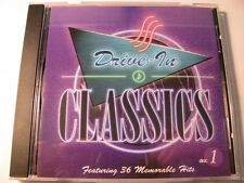DRIVE-IN CLASSICS - 36 MEMORABLE HITS, 12 SONG DISC 1 COMPACT DISC