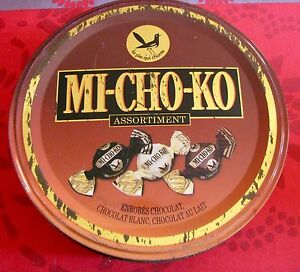 Boite publicitaire Bonbons Mi-Cho-Ko La Pie qui Chante