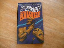 "DOC SAVAGE # 41 ""MERCHANTS OF DISASTER"" - 1ST PRTG 10/69 - NICE BANTAM PB"