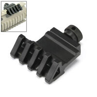 Tactical Rail Mount 45 degree Angle Offset 20mm Weaver Picatinny 5 Slot Light