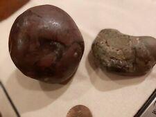 Beautiful septarian stones dragon veins purple and green raw 5oz