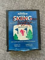 Vintage ActiVision 1980 Skiing Atari 2600 AG-005 GAME CARTRIDGE ONLY