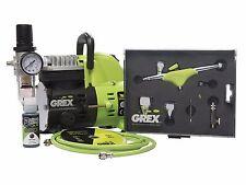 NEW Grex GCK05 Genesis.XGi Airbrush Combo Kit w/ AC1810-A Compressor