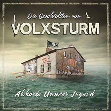 GESCHICHTEN VON VOLXSTURM-AKKORDE UNSERER JUGEND  2 CD NEUF