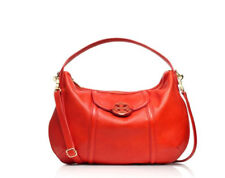 NWT Tory Burch Amanda Classic Large Handle Hobo Stachel Lobster