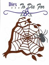 Dies...to die for metal cutting craft die Spider and Tree Web