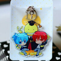 Hot Japan Anime Assassination Classroom Charm Rubber Strap Keychain Pendant P36