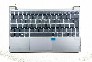 Notebook PEAQ SLIM S130 SILVER Palmrest US Keyboard
