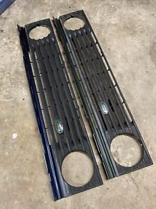 Range Rover Classic Front Grille BLUE With Logo