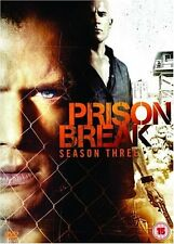 Prison Break - Season 3 [DVD][2007] By Dominic Purcell,Wentworth Miller.