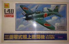 Otaki Plastic Airplane Model Kit 1/48 Mitsubishi Type-O Carrier Fighter Zeke 201