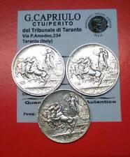 REGNO D'ITALIA SERIE MONETE DI 1LIRA 1915-16 -17