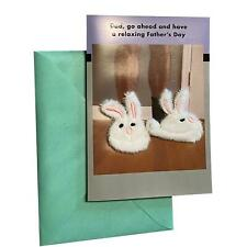 Father's Day Greeting Card - Dad, go ahead and have a relaxing Father's Day - Fu