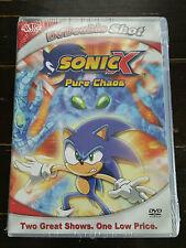 NEW - Sonic X Pure Chaos DVD CARTOON - FREE SHIPPING!! SEGA