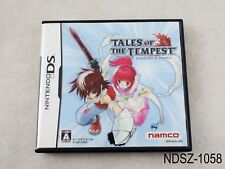 Tales of the Tempest Nintendo DS Japanese Import NDS JP Japan US Seller A