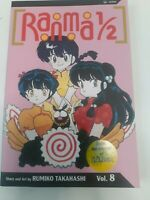 New RANMA 1/2, VOL. 8 By Rumiko Takahashi Japanese Anime Manga